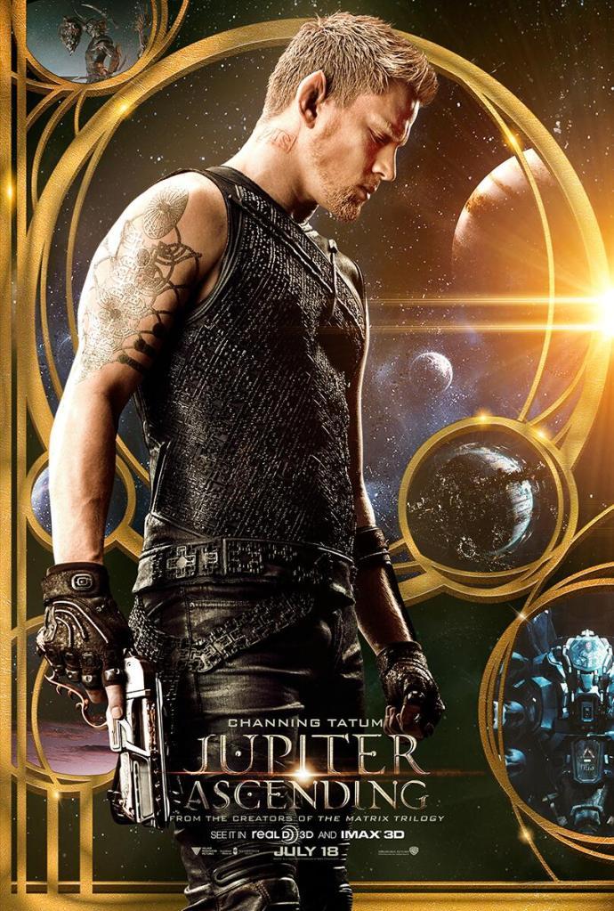 Jupiter Ascending poster Channing Tatum