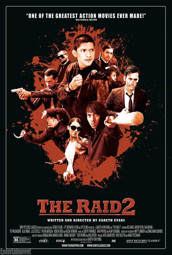 The Raid 2 poster 2