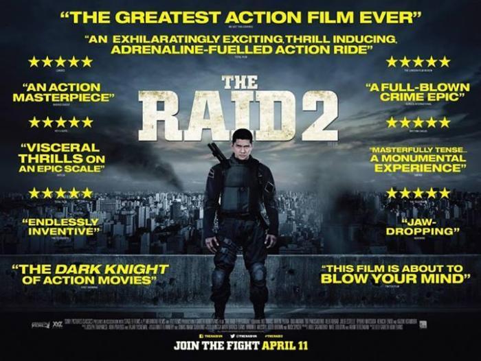 The Raid 2 poster 3