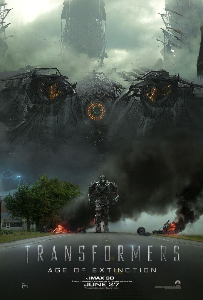 Transformers Age of Extinction poster IMAX