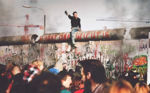 Berlin Wall protests 1988