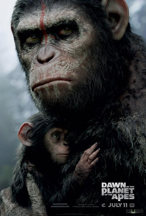 Dawn of the Planet of the Apes poster 5