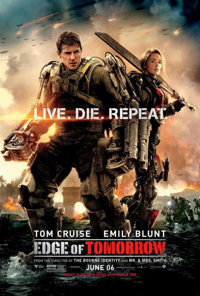 Edge of Tomorrow poster 2
