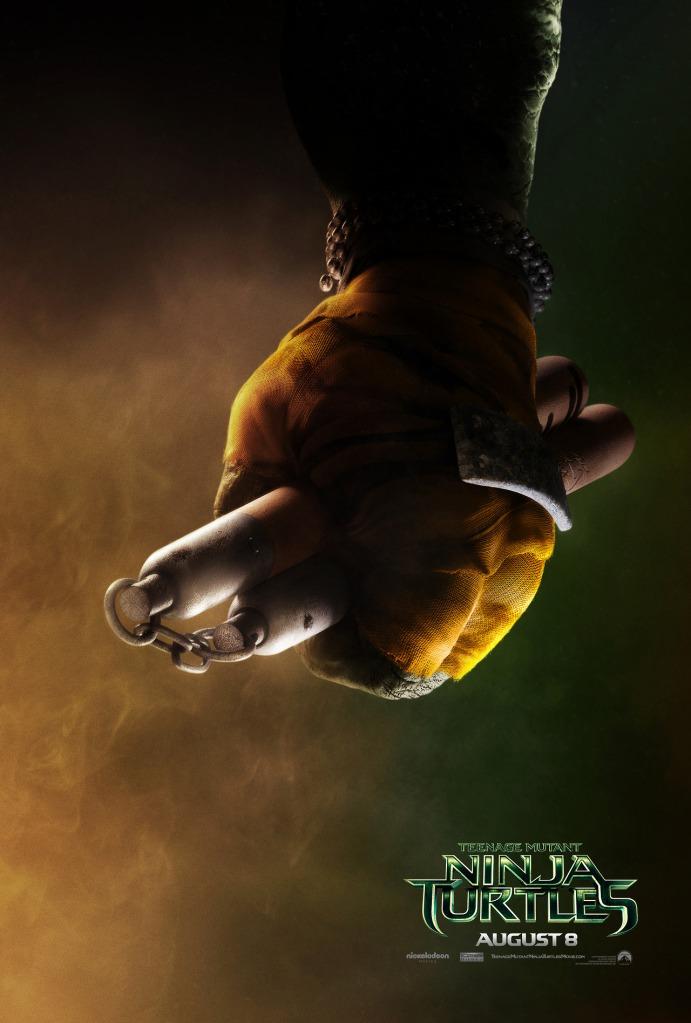 Teenage Mutant Ninja Turtle poster Michelangelo