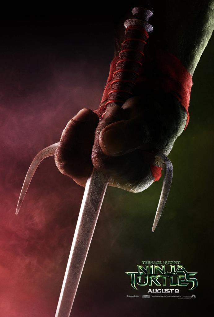 Teenage Mutant Ninja Turtle poster Raphael