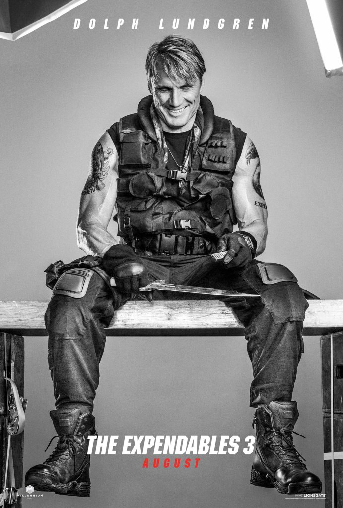 The Expendables 3 poster Dolph Lundgren
