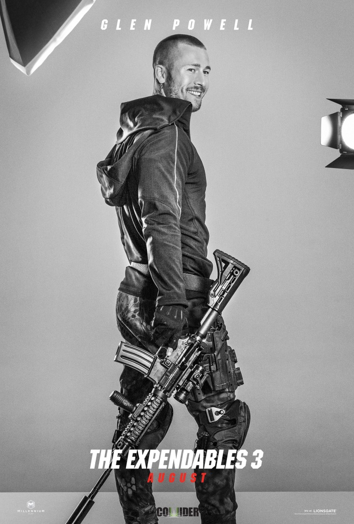 The Expendables 3 poster Glen Powell