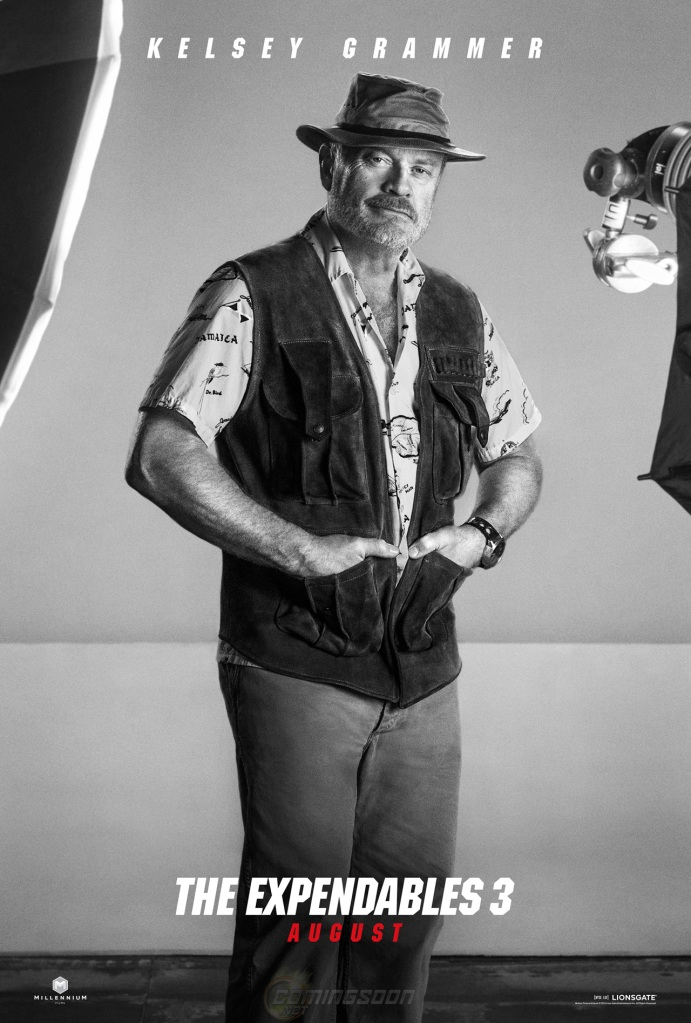 The Expendables 3 poster Kelsey Grammer