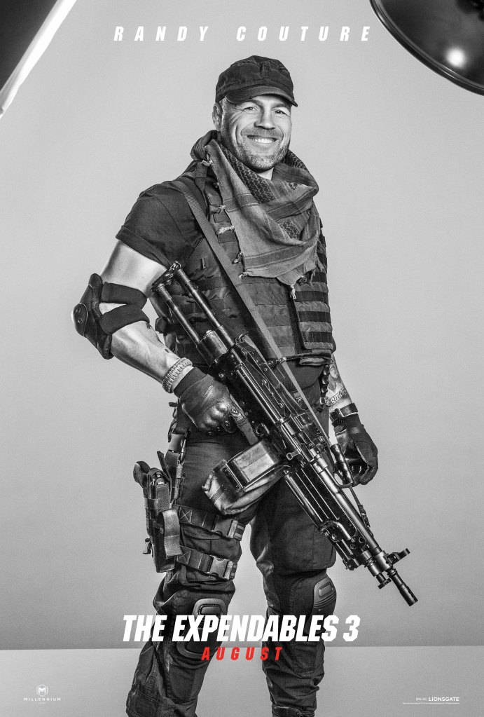 The Expendables 3 poster Randy Couture