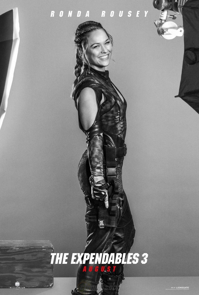 The Expendables 3 poster Ronda Rousey