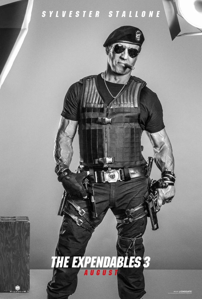 The Expendables 3 poster Sylvester Stallone