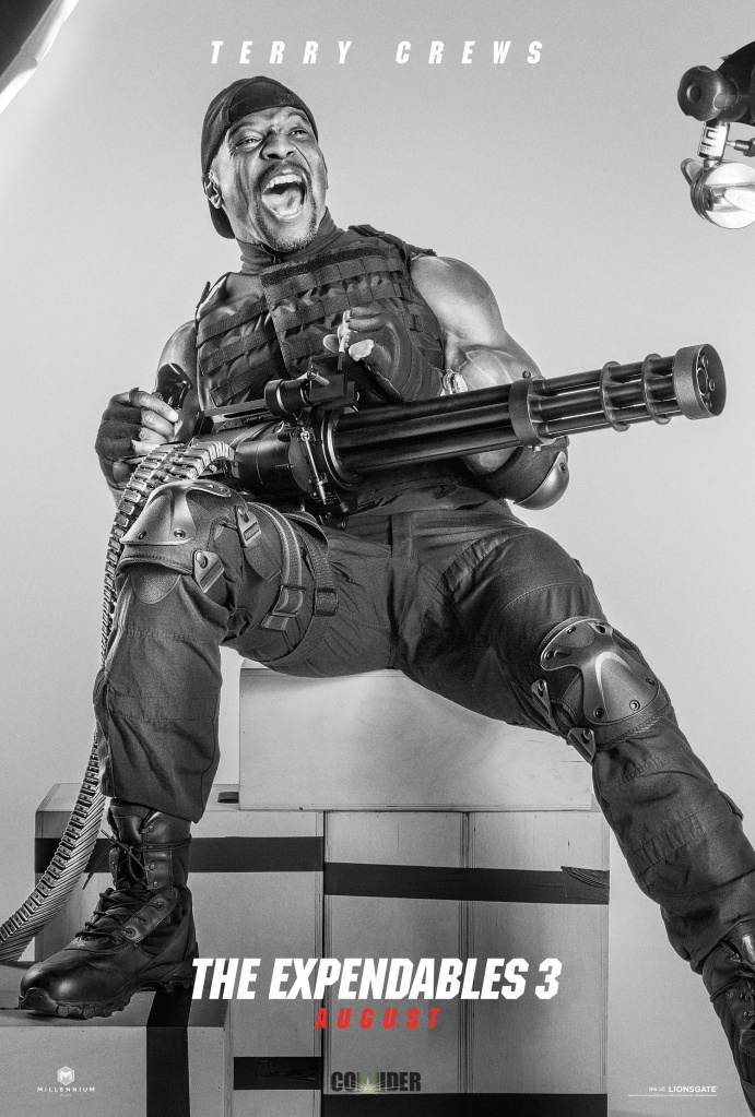 The Expendables 3 poster Terry Crews