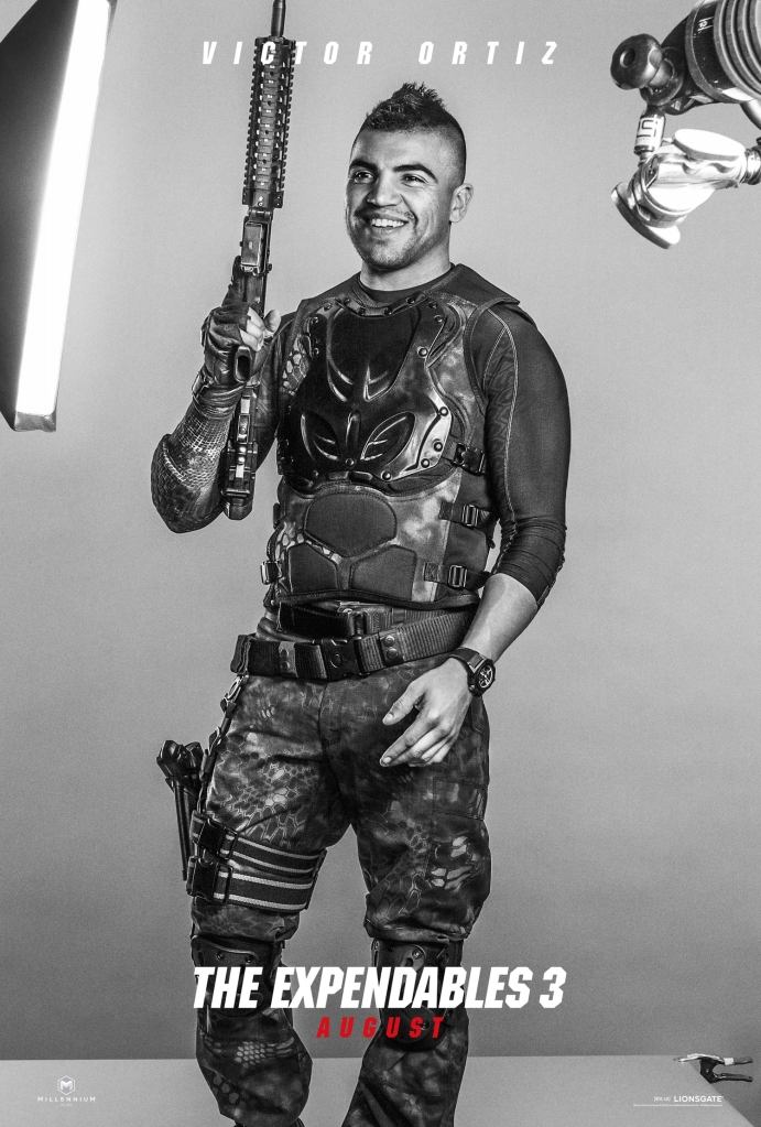 The Expendables 3 poster Victor Ortiz
