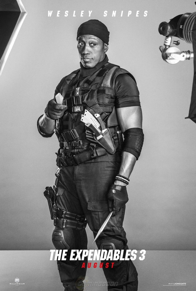 The Expendables 3 poster Wesley Snipes
