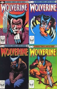 Wolverine comic covers