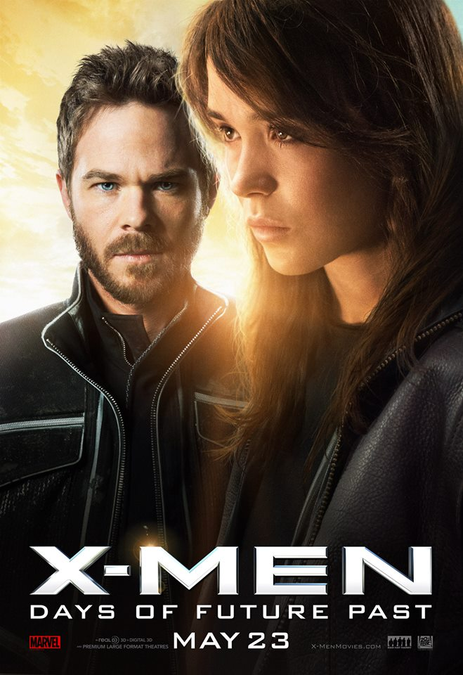 X-Men Days of Future Past poster Iceman Kitty Pryde