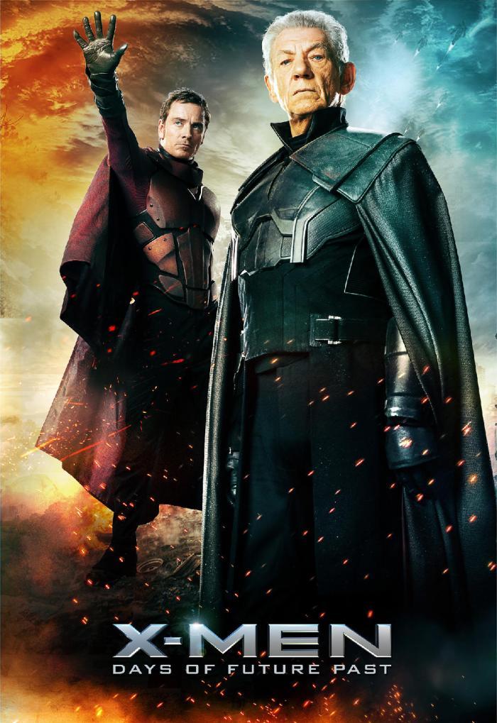 X-Men Days of Future Past poster Magneto 2