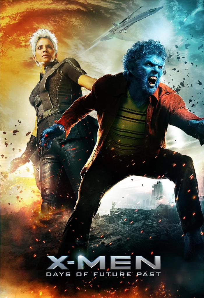 X-Men Days of Future Past poster Storm Beast 2