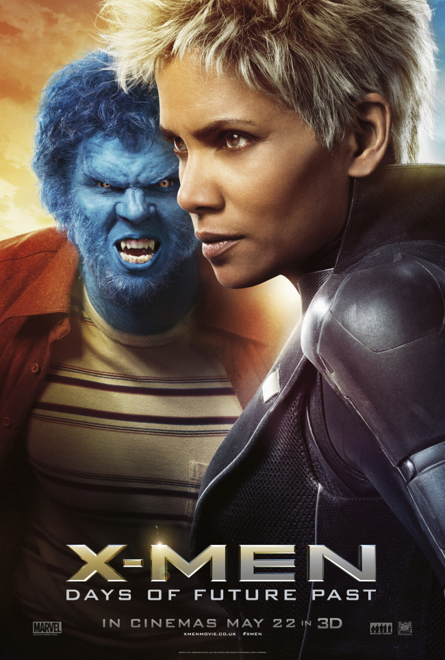 X-Men Days of Future Past poster Storm Beast
