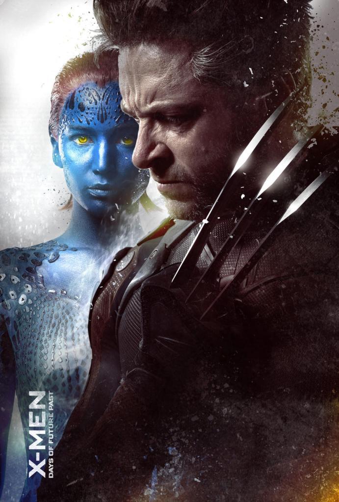 X-Men Days of Future Past poster Wolverine Mystique 2