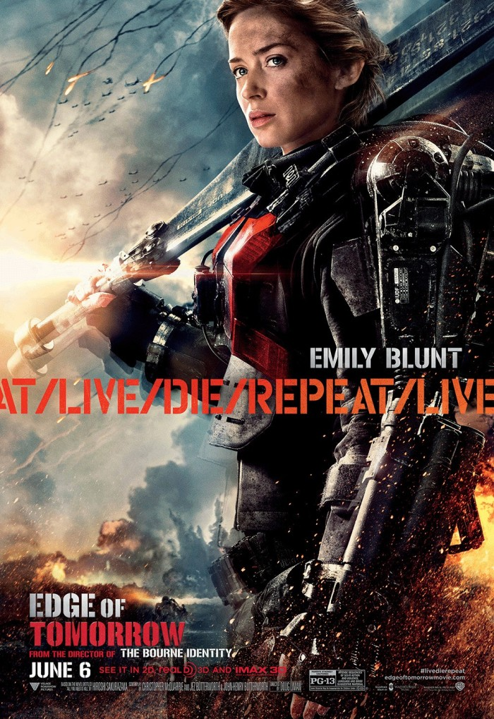 Edge of Tomorrow poster Emily Blunt 2
