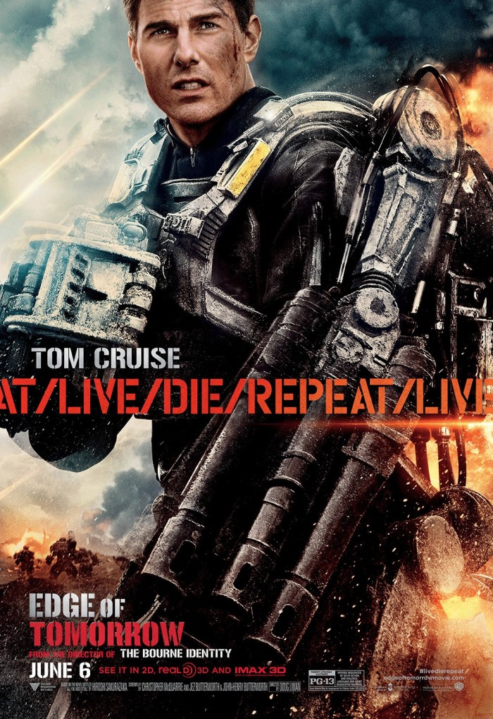 Edge of Tomorrow poster Tom Cruise 2