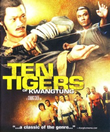 DVD cover for Ten Tigers of Kwangtung
