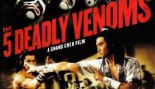 The 5 Deadly Venoms Dragon Dynasty DVD cover