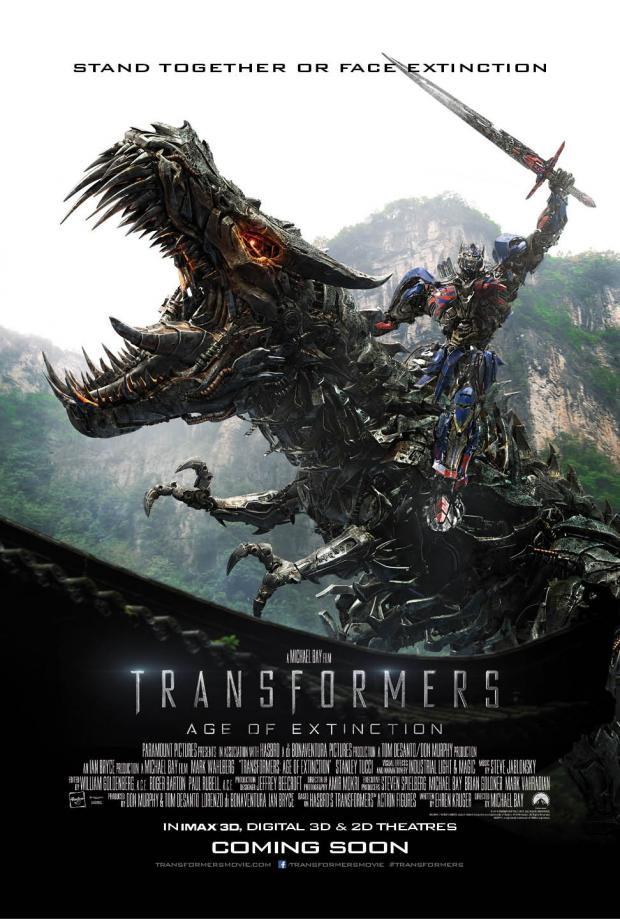 Transformers Age of Extinction poster 2