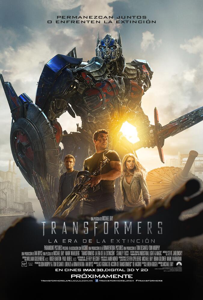 Transformers Age of Extinction poster intl