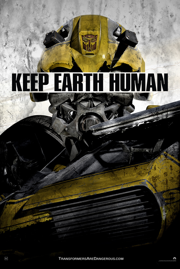 Transformers Age of Extinction promo poster Bumblebee
