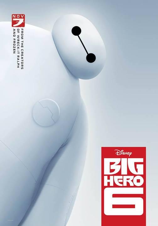Big Hero 6 poster 3