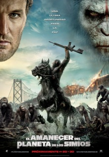 Dawn of the Planet of the Apes poster intl