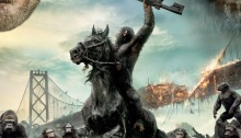 International movie poster for Dawn of the Planet of the Apes
