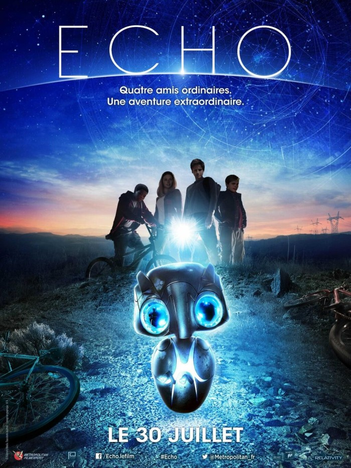Earth to Echo poster French