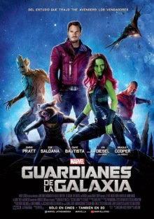 Guardians of the Galaxy intl poster 2