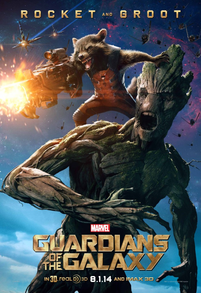 Guardians of the Galaxy poster Groot Rocket