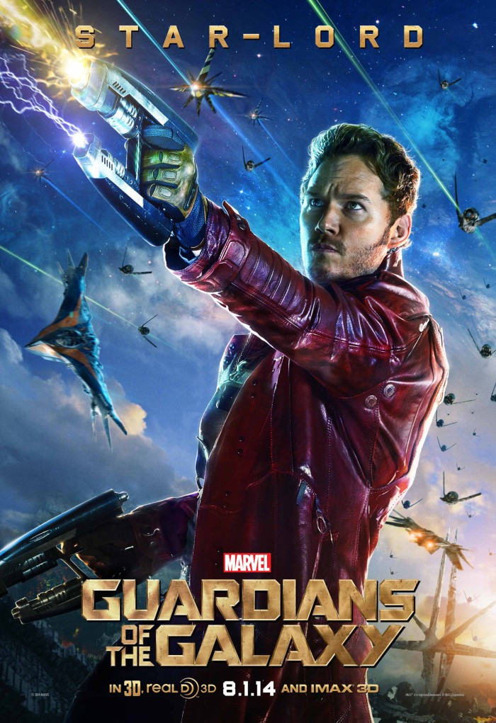 Guardians of the Galaxy poster Star-Lord