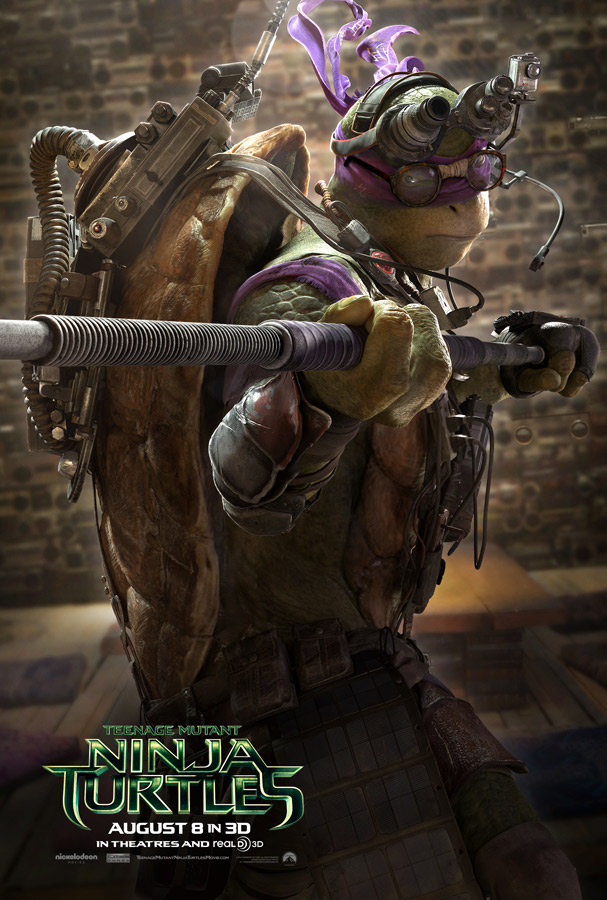 Teenage Mutant Ninja Turtles poster Donatello 2