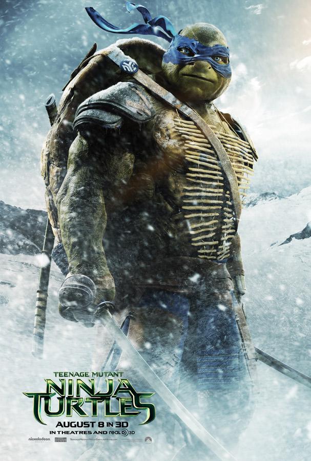 Teenage Mutant Ninja Turtles poster Leonardo 2