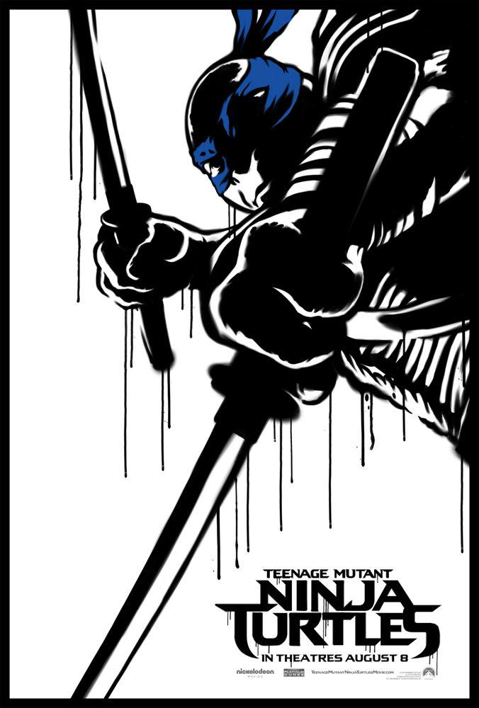 Teenage Mutant Ninja Turtles poster Leonardo