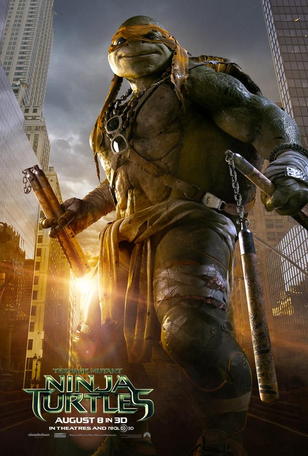 Teenage Mutant Ninja Turtles poster Michaelangelo 2