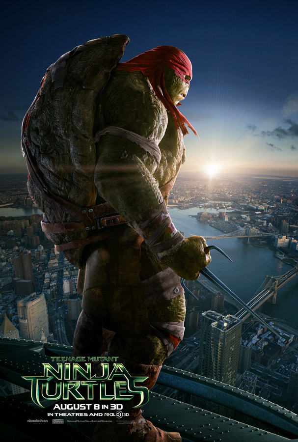 Teenage Mutant Ninja Turtles poster Raphael 2