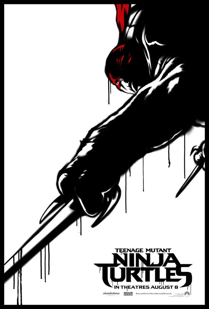 Teenage Mutant Ninja Turtles poster  Raphael