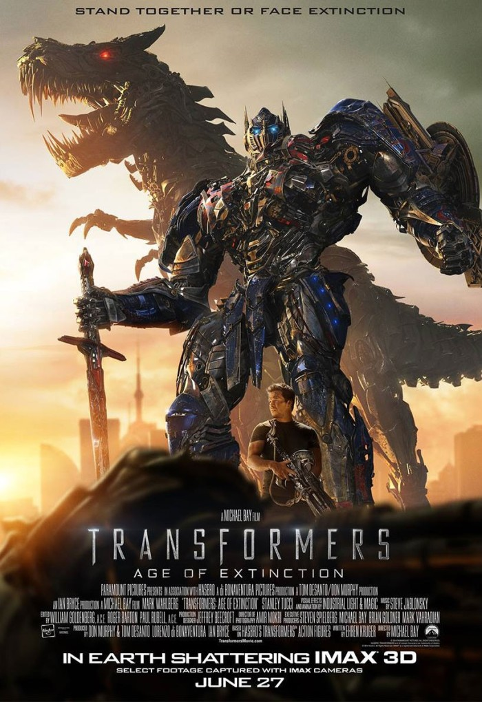 Transformers Age of Extinction poster 3