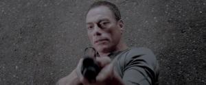Screencap of Jean-Claude Van Damme in Alien Uprising