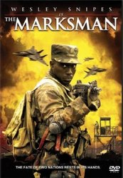 DVD cover for The Marksman