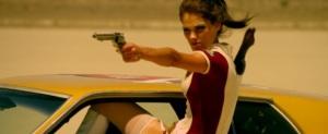 Christian Pitre as Mary Death in Bounty Killer