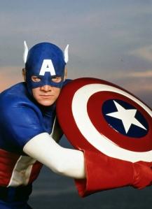 Captain America 1990 suit