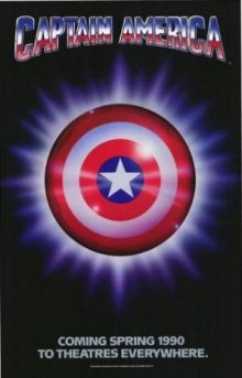 Movie poster for Captain America (1990)